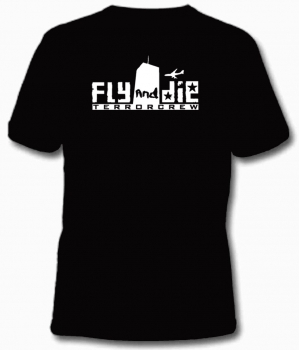 Fly and die T-Hemd
