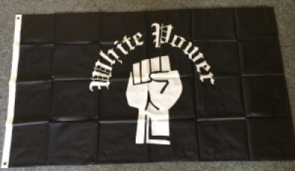 Fahne - White Power 150x90