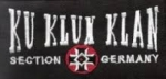 Klettaufnäher KKK Section Germany